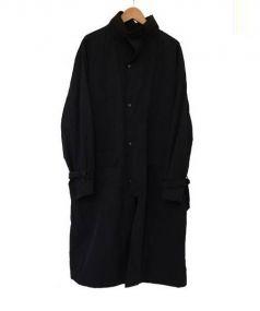 COMOLI(コモリ)の古着「ストームコート」|ブラック