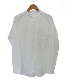 URU(ウル)の古着「バンドカラーシャツ」|ホワイト
