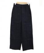 ebure(エブール)の古着「ワイドパンツ」 ブラック