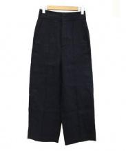 ebure(エブール)の古着「ワイドパンツ」|ブラック