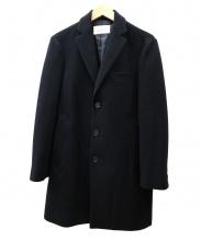 EDIFICE(エディフィス)の古着「チェスター コート」|ブラック