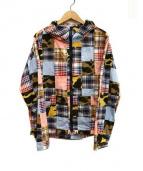 A BATHING APE(ア ベイシング エイプ)の古着「パッチワークジャケット」|マルチカラー