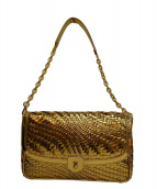 COLE HAAN(コールハーン)の古着「ショルダーバッグ」|ゴールド