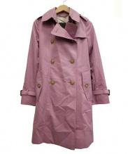 MACKINTOSH LONDON(マッキントッシュ ロンドン)の古着「トレンチコート」 ピンク