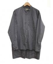 ATELIER BETON(アトリエベトン)の古着「コットンシャツ」|グレー