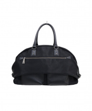 「Lin-ku」輪怐(リンク)の古着「ボストンバッグ」|ブラック