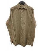 NIGEL CABOURN(ナイジェルケーボン)の古着「オックスフォードシャツ」 ベージュ