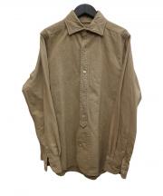 NIGEL CABOURN(ナイジェルケーボン)の古着「オックスフォードシャツ」|ベージュ
