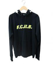 F.C.R.B.(エフシーレアルブリストル)の古着「STAR HOOD PULLOVER PARKA」 ブラック