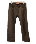 JUNYA WATANABE CdG MAN×LEVI'S(ジュンヤワタナベ コムデギャルソン×リーバイス)の古着「パンツ」|ブラウン