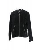 LHP(エルヘイチピ)の古着「レザージャケット」|ブラック