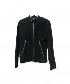 LHP(エルヘイチピ)の古着「レザージャケット」 ブラック
