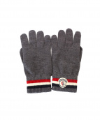 MONCLER(モンクレール)の古着「KNIT GLOVES」|グレー