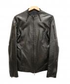 ESTNATION(エストネーション)の古着「レザージャケット」|ブラック