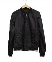 PRADA(プラダ)の古着「ボンバージャケット」|ブラック