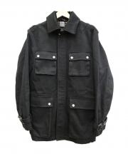BURBERRY BLACK LABEL(バーバリーブラックレーベル)の古着「M65ジャケット」|ブラック