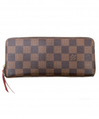 LOUIS VUITTON(ルイ・ヴィトン)の古着「ラウンドジップ長財布」|ブラウン