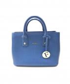 FURLA(フルラ)の古着「2WAYショルダーバッグ」|ブルー