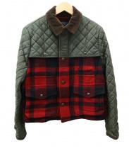 POLO RALPH LAUREN(ポロ・ラルフローレン)の古着「キルティング切替ジャケット」