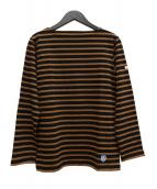 ORCIVAL(オーチバル)の古着「バスクシャツ」|ブラウン