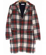 BEAUTY&YOUTH×Harris Tweed(ビューティアンドユース×ハリスツイード)の古着「BST HARRIS CHESTER COAT」