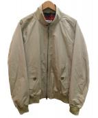 BARACUTA(バラクータ)の古着「G9クラッシックハリントンジャケット」|ベージュ