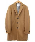 EDIFICE(エディフィス)の古着「チェスターコート」|キャメル