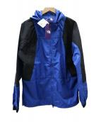 THE NORTH FACE PURPLE LABEL(ザノースフェイス パープルレーベル)の古着「マウンテンパーカー」|ブルー×ブラック
