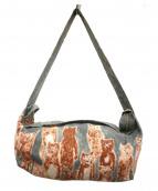 mina perhonen(ミナペルフォネン)の古着「aliveボディーバッグ」|グリーン