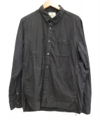 SNOWPEAK(スノーピーク)の古着「コットンタイプライターシャツ」|ブラック