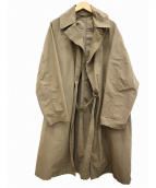 COMOLI(コモリ)の古着「Nylon Cotton Tielocken Coat」