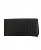 GUCCI(グッチ)の古着「長財布」 ブラック