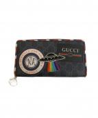 GUCCI(グッチ)の古着「ナイトクーリエラウンドジップ財布」