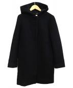 ROPE(ロペ)の古着「2WAYメルトンビーバーコート」|ネイビー