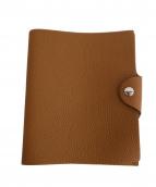 HERMES(エルメス)の古着「手帳カバー」|ブラウン