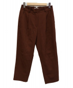 STEVEN ALAN(スティーヴンアラン)の古着「スラックスパンツ」|ブラウン