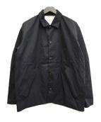 DESCENTE(デサント)の古着「コーチジャケット」|ブラック