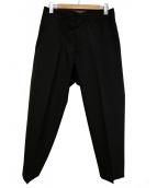 ALLEGE(アレッジ)の古着「スラックスパンツ」|ブラック