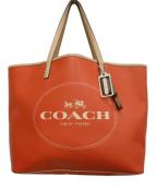 COACH(コーチ)の古着「トートバッグ」|オレンジ