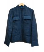 Y's(ワイズ)の古着「ブルゾン」 ブルー