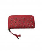 JIMMY CHOO(ジミーチュウ)の古着「長財布」|ピンク