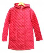 Traditional Weatherwear(トラディショナル ウェザーウェア)の古着「キルティングコート」|ショッキングピンク