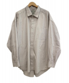 ATELIER BETON(アトリエベトン)の古着「シャツ」 グレー