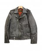 RUDE GALLERY BLACK REBEL(ルードギャラリーブラックレーベル)の古着「ライダースジャケット」 ブラック