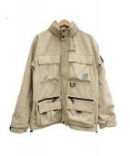 carhartt(カーハート)の古着「ジャケット」 ベージュ