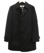 BURBERRY BLACK LABEL()の古着「コート」 ブラック