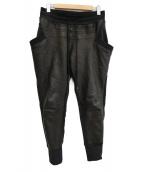 ripvanwinkle(リップバンウィンクル)の古着「パンツ」|ブラック