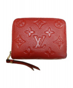 LOUIS VUITTON(ルイヴィトン)の古着「コインパース」|レッド