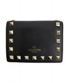 VALENTINO(バレンチノ)の古着「財布」 ブラック