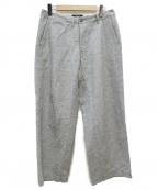 ordinary fits(オーディナリーフィッツ)の古着「ワイドパンツ」|グレー